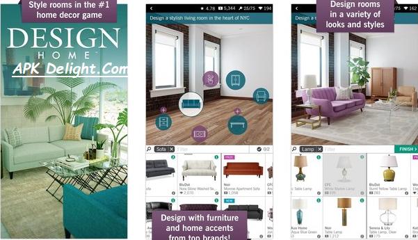 Design Home APK 2021 Mod File Download Free   APK Delight